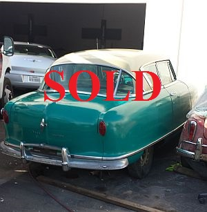 amc, nash \u0026 rambler cars for sale1952 nash country club ht california car spent its life 2 miles from disneyland, which is a very dry neighborhood has 73,000 miles on it, overdrive