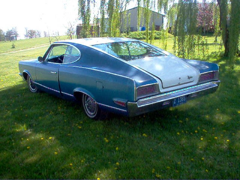 1967 AMC Marlin rear